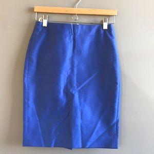 Jcrew no. 2 pencil skirt in cotton